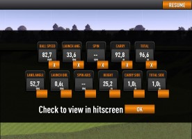 shot analysis parameters